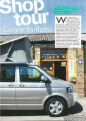 Shop Tour Feature Camper & Bus Magazine January 2014 Edition