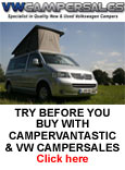 Try Before You Buy with VW Camper Sales