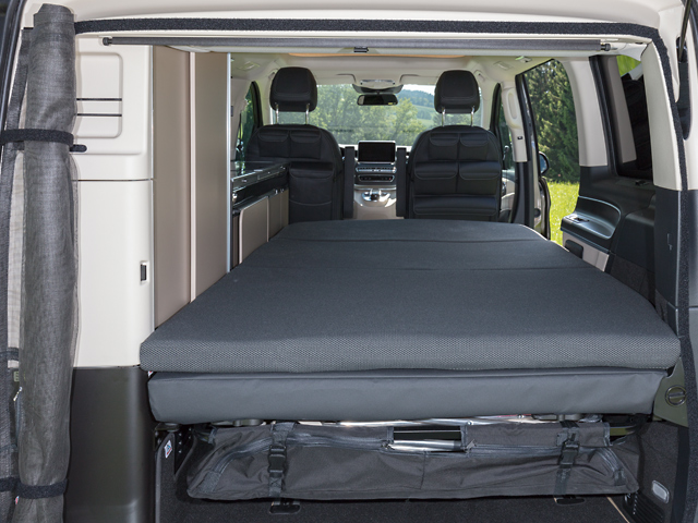 Brandrup Ixtend Folding Bed For Mercedes Benz V Class Marco Polo