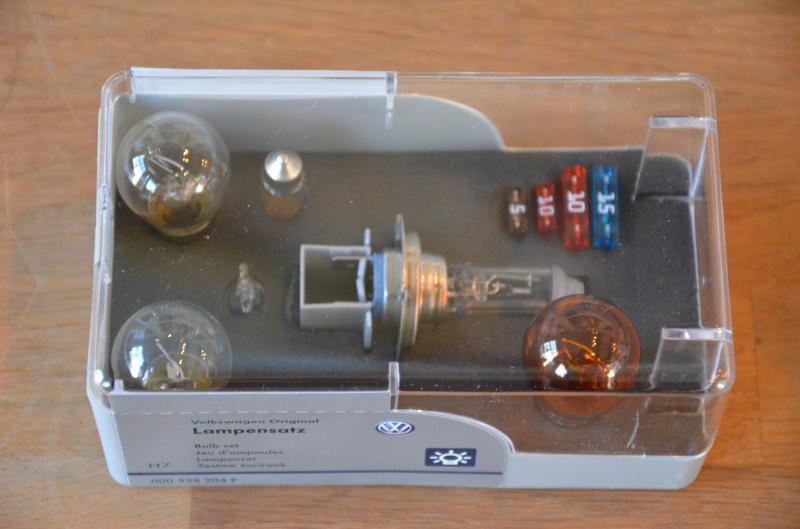 VW Bulb and Fuse kit VW T5/T6, California, Caravelle, Transporter
