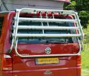 VW T6 Bike rack T5 style Tailgate Genuine Volkswagen Transporter Caravelle California